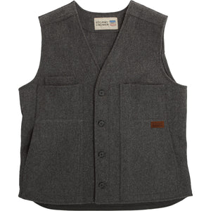 The Mackinaw Wool Button Vest