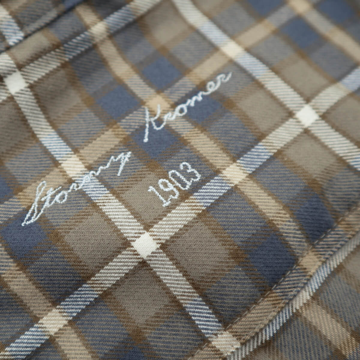 The Flannel Shirt - Autumn Gold Plaid