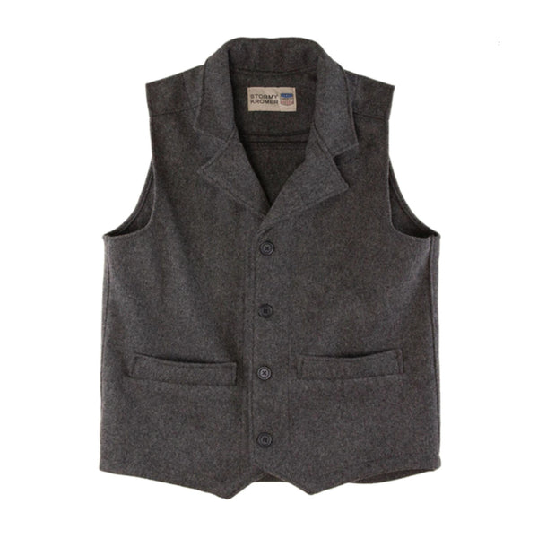 SK Western Vest in 100% virgin wool
