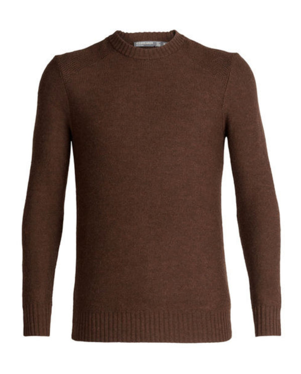 Icebreaker Waypoint Crewe Sweater - Bronze Heather