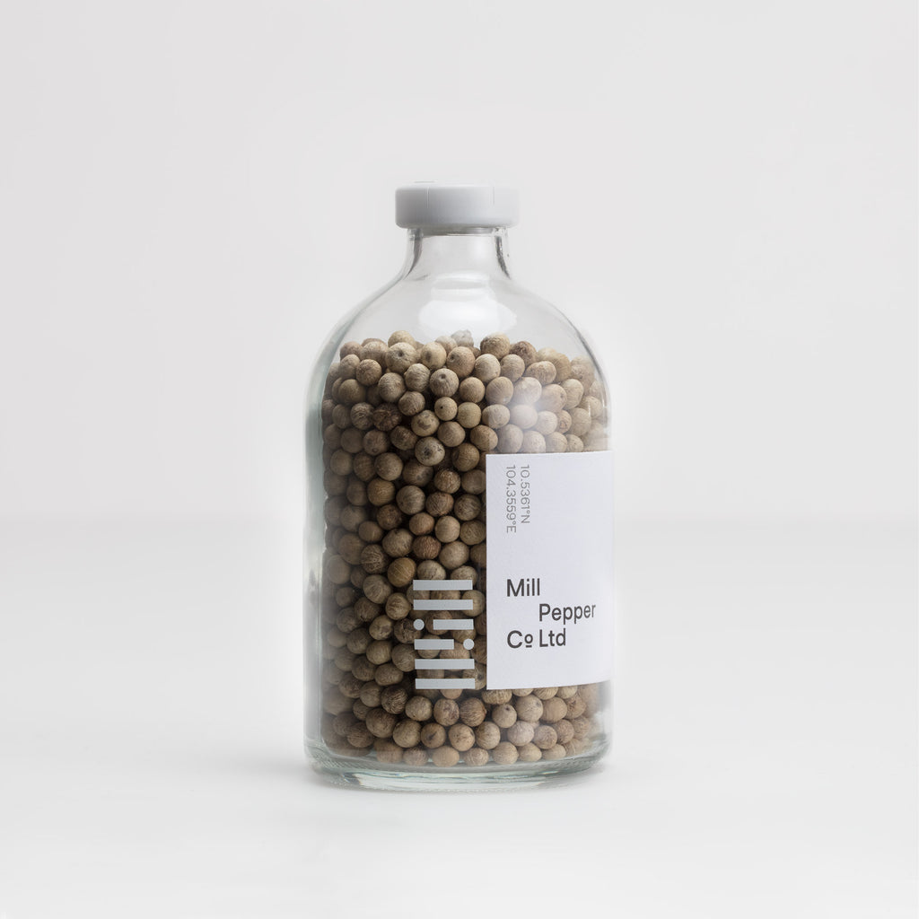 White <br>Kampot Pepper