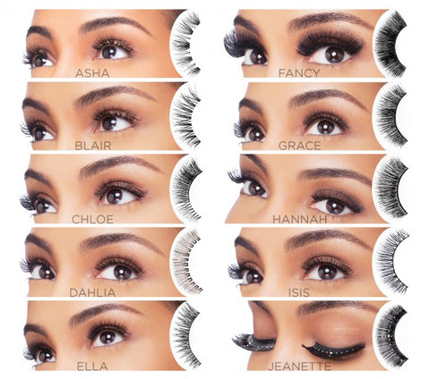 915a54050a1 I Envy V-Luxe 100% Virgin Remy Hair Eyelash False Eye Lashes Strip ...