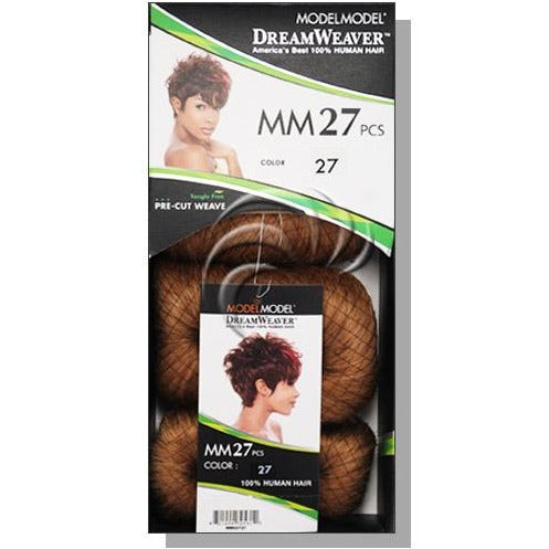 MODEL MODEL Dream Weaver Pre-Cut 27 pcs 100% Human Hair Weave