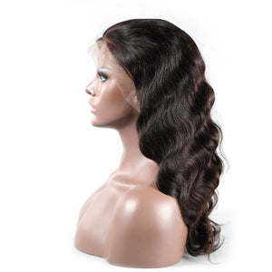 8A Grade Lace Front Wigs 100% Virgin Hair Body Wave