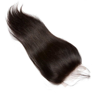 10A Grade 4*4 Lace Closure 100% Virgin Hair -Straight