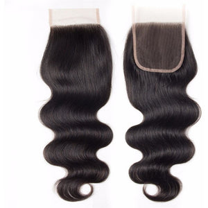 10A Grade 4*4 Lace Closure 100% Virgin Hair - Body Wave