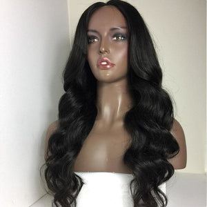 10A Grade Glueless Full Lace Wigs 100% Virgin Hair ( Body Wave )