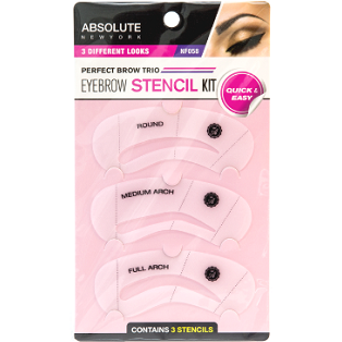 Absolute New York Eyebrow Stencil Kit