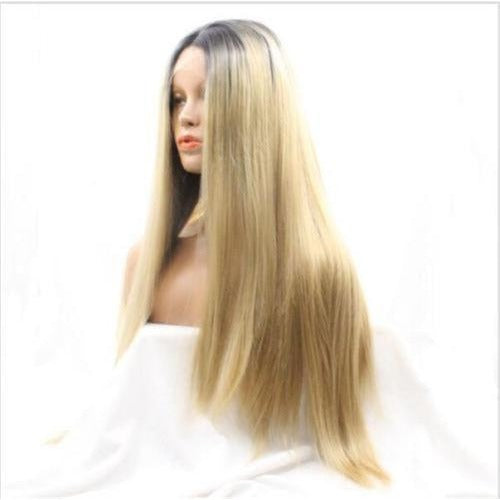 8A Grade Blonde Lace Front Wigs 100% Virgin Hair