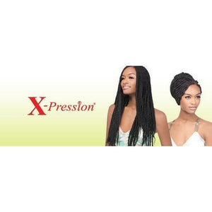 X-PRESSION 100% Kanekalon Braid