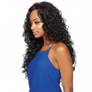 OUTRE SYNTHETIC HAIR HALF WIG QUICK WEAVE AMBER 26""
