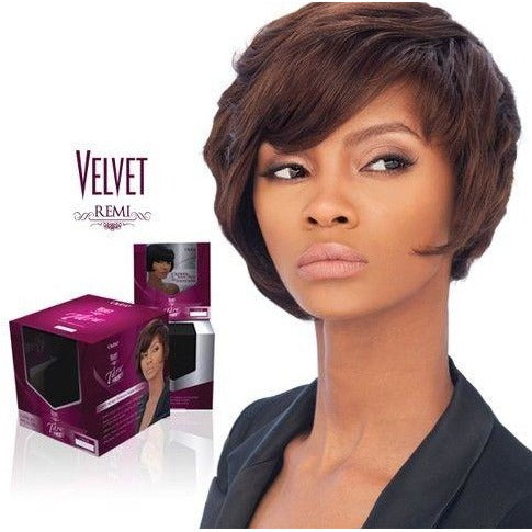 OUTRE VELVET REMI TARA 2 4 6 WEAVING EXTENSION W/CLOSURE 100% HUMAN HAIR 28 psc