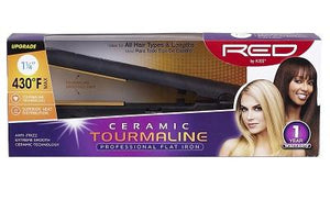 Red by Kiss Ceramic Tourmaline Professional Flat Irons