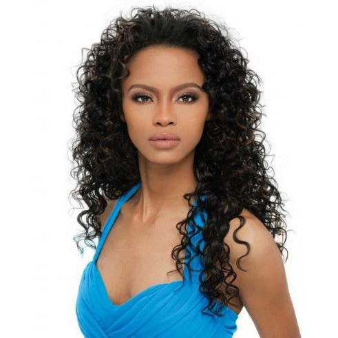 OUTRE SYNTHETIC HAIR HALF WIG QUICK WEAVE AMBER