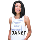 "JANET COLLECTION 12"" 3S Havana Medium Mambo Box Braid (medium) 100% Kanekalon/Toyokalon"