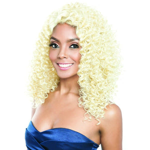 Brown Sugar Human Hair Blend Soft Swiss Lace Wig - BSG208