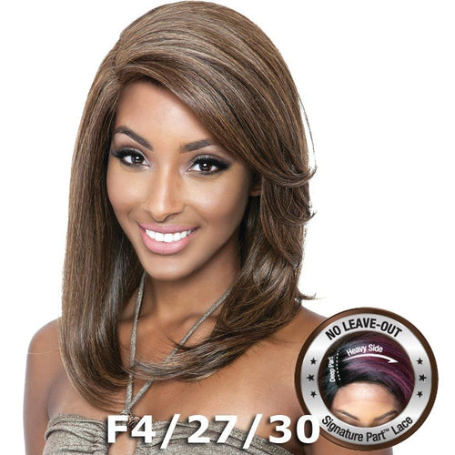 Brown Sugar Human Hair Blend Soft Swiss Lace Wig - BSS202