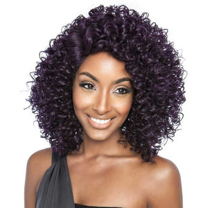 Brown Sugar Human Hair Blend Soft Swiss Lace Wig - BSS205