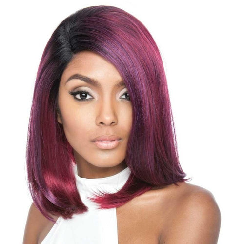Brown Sugar Human Hair Blend Soft Swiss Lace Wig - BS207