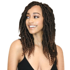MODEL MODEL CROCHET BRAIDS GLANCE 2X BOMB TWIST 14""