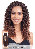 MODEL MODEL GLANCE  SYNTHETIC HAIR CROCHET BRAIDS DEEP TWIST 12""