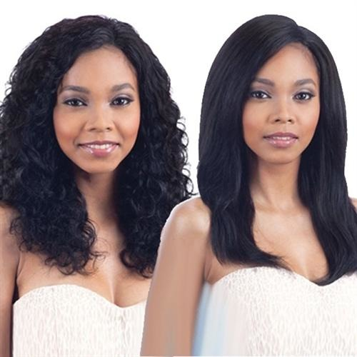 Model Model Nude Fresh Wet & Wavy 100% Virgin Remy Weaving Natural Wavy 7PCS
