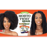 "MODEL MODEL HAIR BRAIDS DOUBLE STRAND STYLE (CUBAN TWIST) MOJITO TWIST BRAID 16"" & 24"""