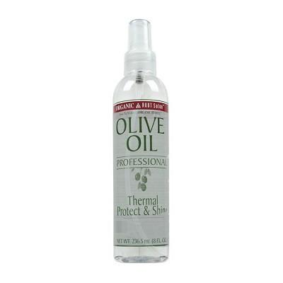 Organic Root Stimulator Olive Oil Professional Thermal Protect & Shine 8 oz