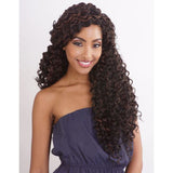 "Afri Naptural Caribbean BEACH CURL 18""  Crochet Braid"