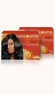 Crème of Nature® No-Lye Relaxer with Argan Oil