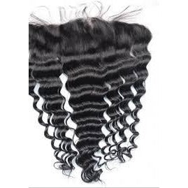 10A Grade Lace Frontal 13*4 100% Virgin Hair - Loose Deep
