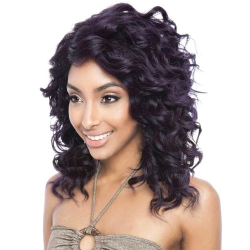 Brown Sugar Human Hair Blend Soft Swiss Lace Wig - BS219