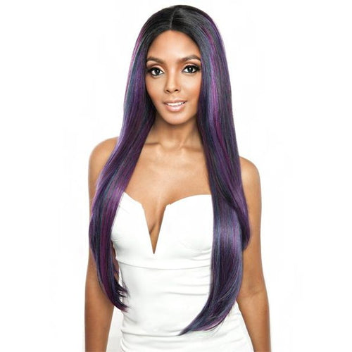 Brown Sugar Human Hair Blend Soft Swiss Lace Wig - BS293