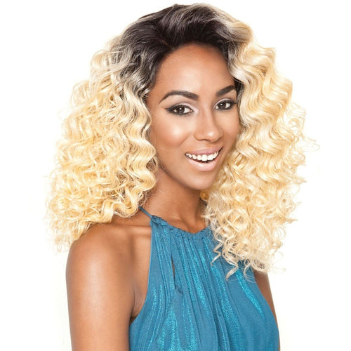 Brown Sugar Human Hair Blend Soft Swiss Lace Wig - BS605
