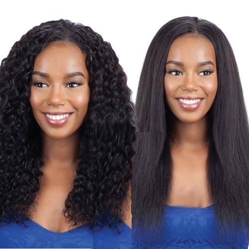 Model Model Nude Fresh Wet & Wavy 100% Virgin Remy Weaving Deep Wave 7PCS