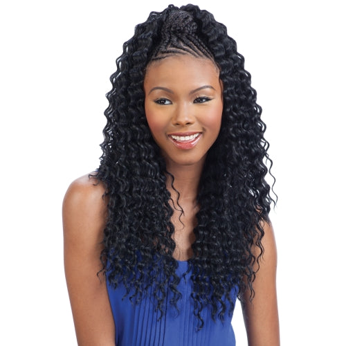 FREETRESS SYNTHETIC HAIR BRAIDS ARUBA CURL BRAID 20