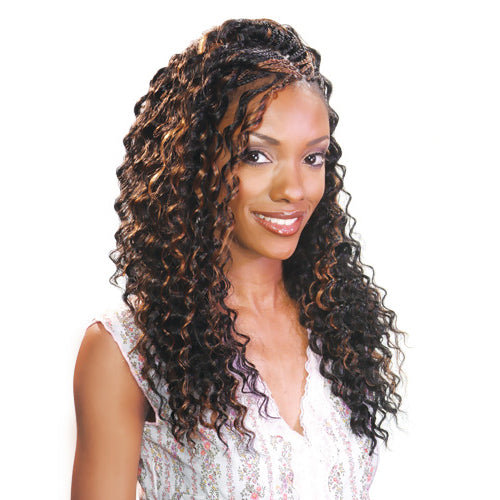 FREETRESS SYNTHETIC HAIR CROCHET BRAIDS DEEP TWIST 22