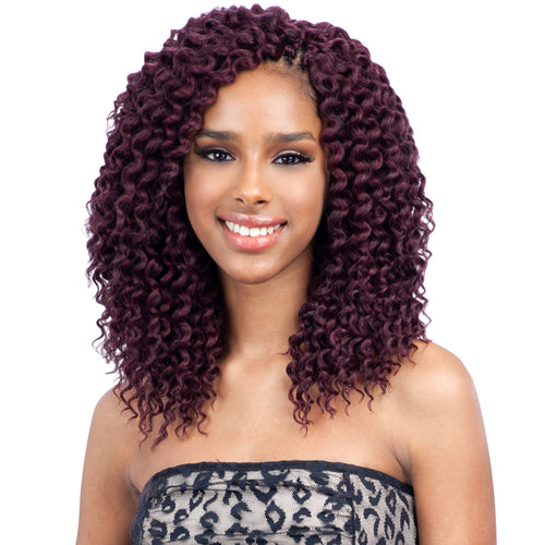 FREETRESS SYNTHETIC HAIR CROCHET BRAIDS DEEP TWIST 10