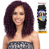 FREETRESS SYNTHETIC HAIR CROCHET BRAIDS DEEP TWIST 10""
