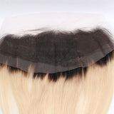 10A Grade Ombre 13*4 Lace Frontal # 1b/613 100% Virgin Hair
