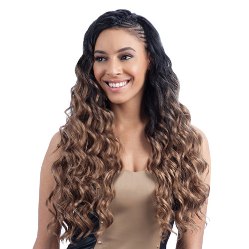FREETRESS SYNTHETIC HAIR BRAIDS LONG FINGER ROLL BRAID 22