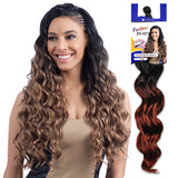 FREETRESS SYNTHETIC HAIR BRAIDS LONG FINGER ROLL BRAID 22""