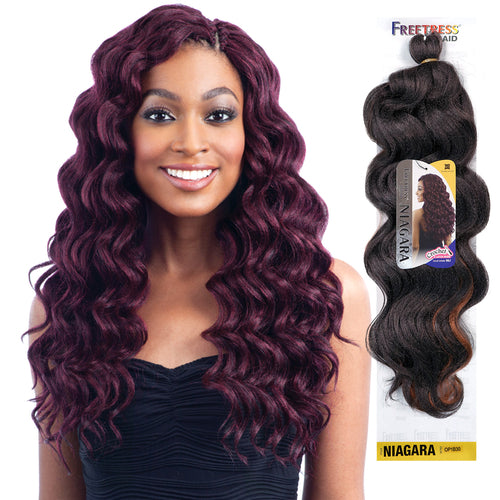 FREETRESS SYNTHETIC HAIR CROCHET BRAIDS NIAGARA