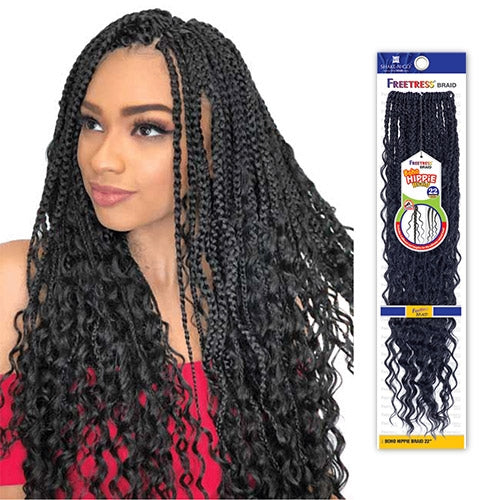 FREETRESS SYNTHETIC HAIR CROCHET BRAIDS BOHO HIPPIE BRAID 22