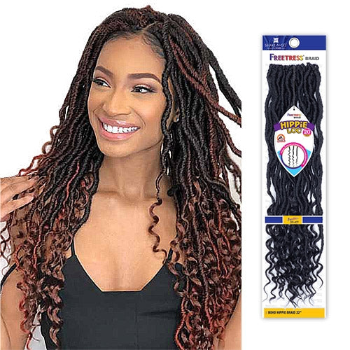 FREETRESS SYNTHETIC HAIR CROCHET BRAIDS HIPPIE LOC 20