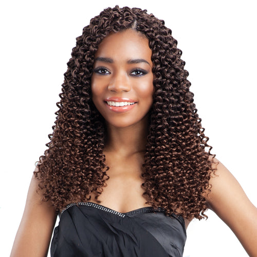 FREETRESS SYNTHETIC HAIR CROCHET BRAIDS WATER WAVE 12