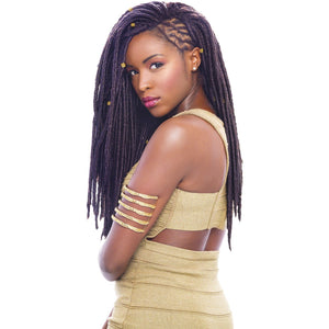 "JANET COLLECTION Mono Mambo Faux Locs 18"" (havana)"