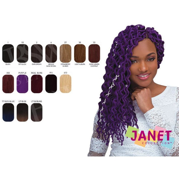 JANET COLLECTION 4X MAMBO COILY DENSE LOCS 18