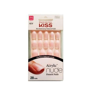 Kiss Salon Acrylic Nude French Nails