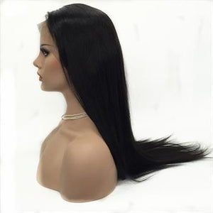 100% Human Hair Lace Front wigs ( Virgin Hair) Straight - 10A Grade